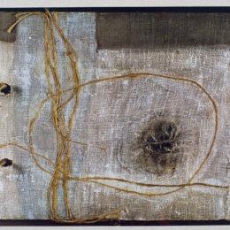 Omphálos, ombligo de la tierra - 1991 / 92 – Detalle - Objeto, libro de artista - 0,70m x 0,40m
