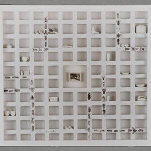 La continuidad – 1998 – Objeto – 1m x 1m